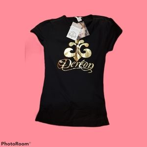 """NWT Beyonce Clothing Line  """"Dereon"""" T-Shirt"""